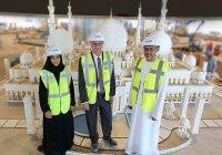 Из этого знаменитую Белую мечеть в Абу Даби не собирали еще никогда