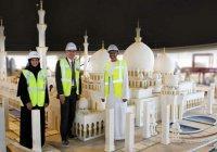 В Дубае из Lego построили миниатюрную копию мечети шейха Зайеда