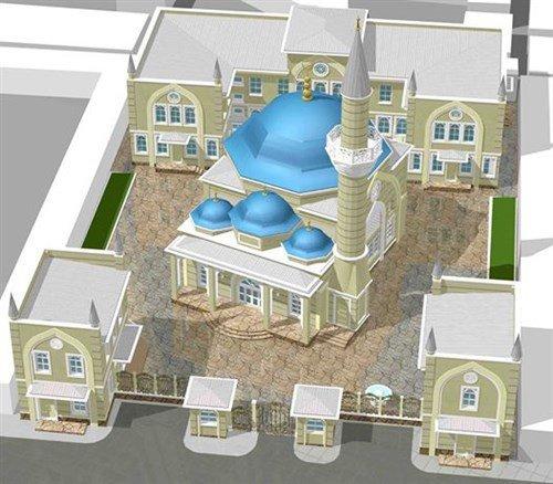 ВСимферополе отреставрировали иоткрыли мечеть середины 19 100-летия