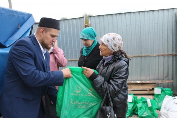 Задва дня Курбан-байрам вТатарстане нуждающимся раздали две тонны мяса