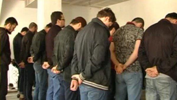 Задержанные 29 апреля прихожане молельного дома.