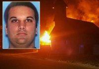 Подозреваемый в поджоге мечети арестован в США