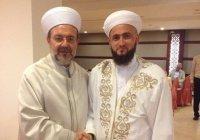 Муфтий РТ побывал на торжественном приеме Министра по делам религии Турции (Фото)