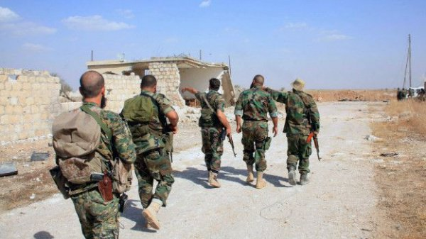 Дамаск готов одновременно соппозицией отвести войска отАлеппо