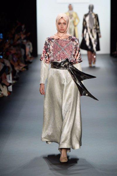Хиджаб покорил Неделю моды в Нью-Йорке (Фото)