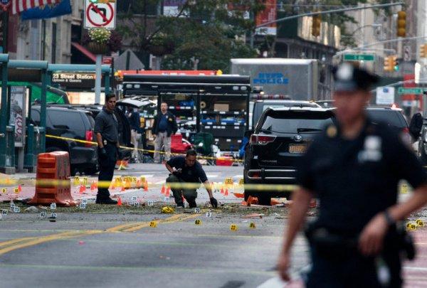 Милиция связала взрывы вНью-Йорке иНью-Джерси