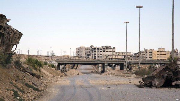 Алеппо подвергся ракетному обстрелу.