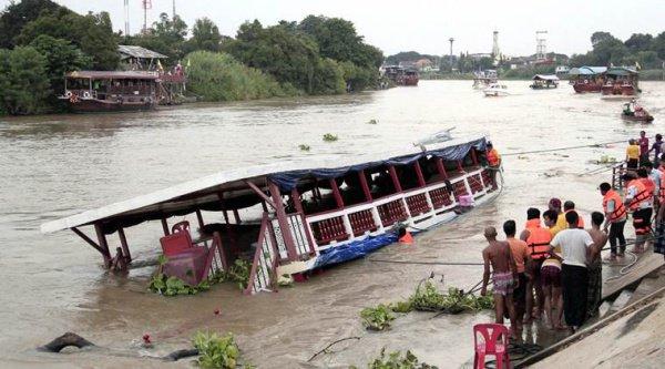 26 человек погибли в итоге кораблекрушения вТайланде