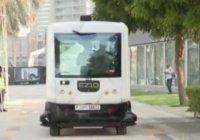 На улицах Дубая тестируют беспилотный автобус (Видео)