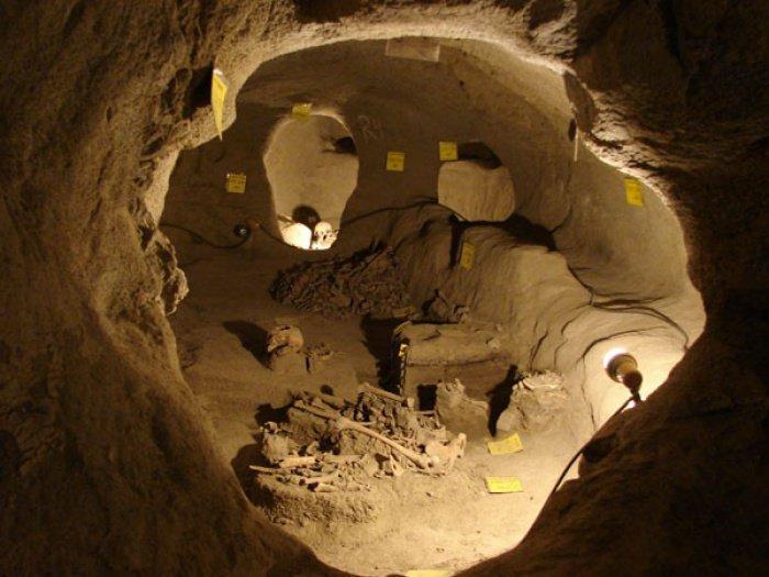 Древнейший иранский подземный город, который было невозможно захватить