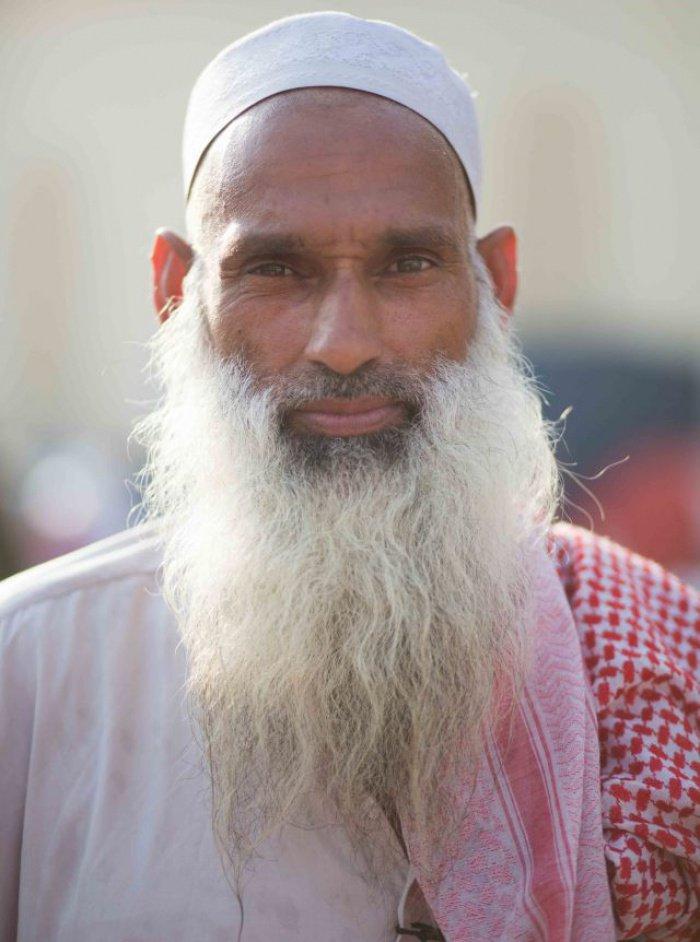 Паломник из долины Сват, Афганистан. Работает строителем в Саудовской Аравии