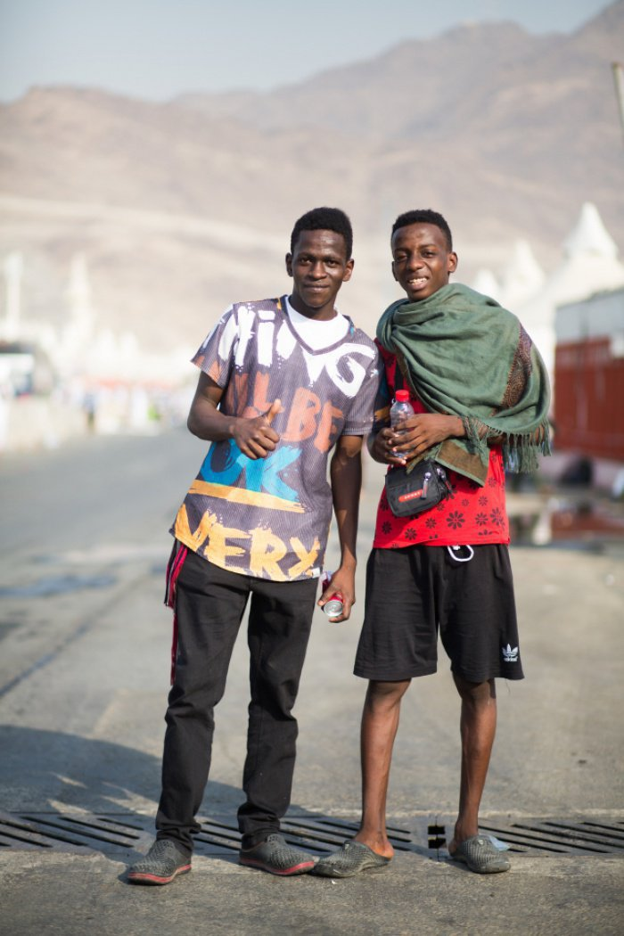 Паломники из Лагоса и Нигерии