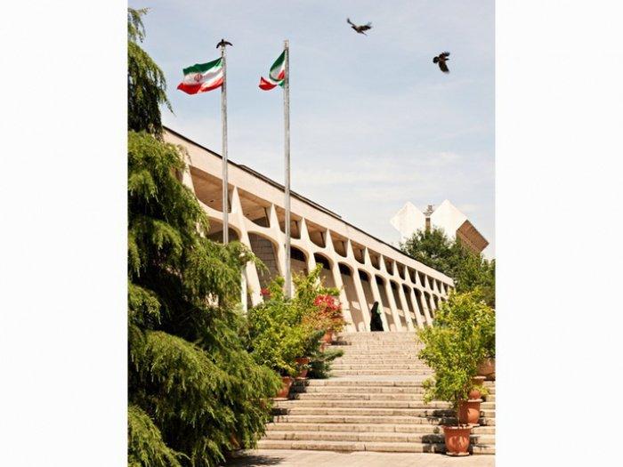 Музей ковров в Тегеране.