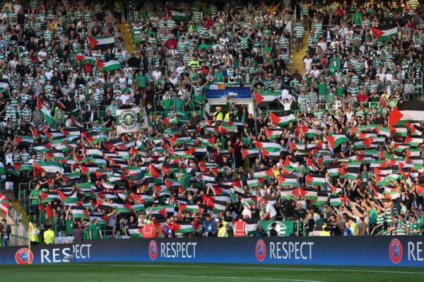 Акция в поддержку Палестины.