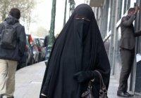 В Болгарии запретили никаб
