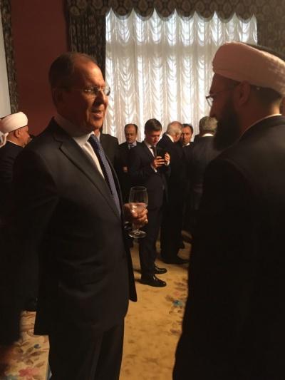 Сергей Лавров и Камиль хазрат Самигуллин.