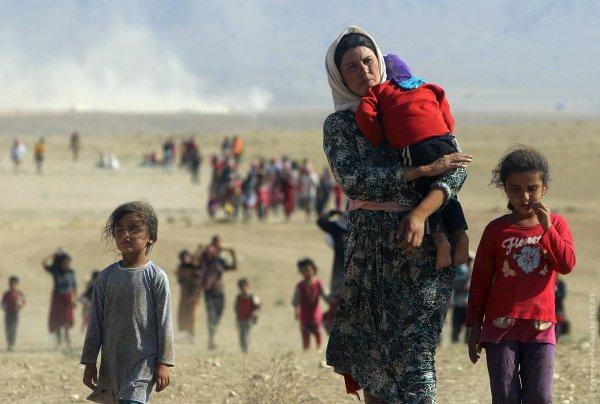 Большая часть беженцев - по-прежнему сирийцы.