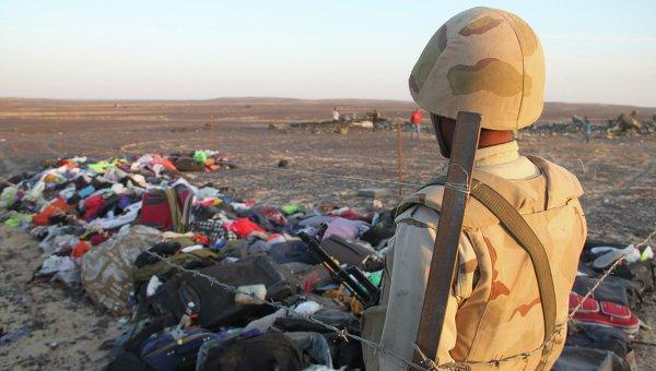 ВЕгипте почтят память жертв катастрофы А321