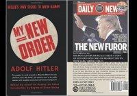 Фото Трампа украсило книгу с цитатами Гитлера