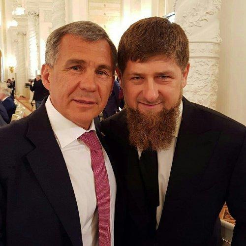 Рустам Минниханов и Рамзан Кадыров.