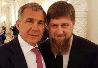 Рустам Минниханов поздравил Рамзана Кадырова с днем рождения