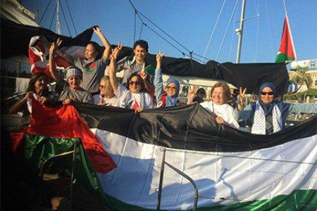 Израильские ВМС остановили судно сактивистками, следовавшее всектор Газа