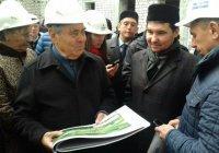 Минтимер Шаймиев ознакомился с ходом строительства Болгарской исламской академии