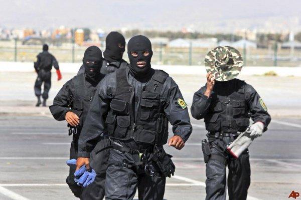 Иранские силовики.