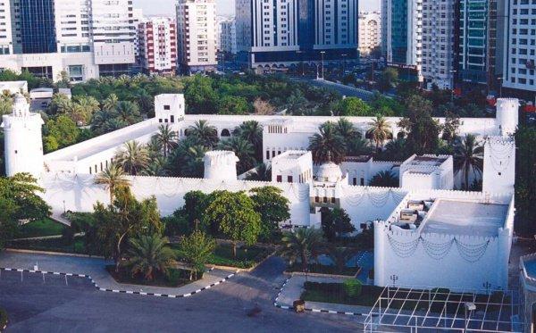 Дворец Аль-Хусн (Белый форт) в Абу-Даби.
