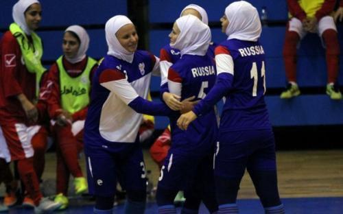 Российские спортсменки.