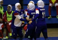 Россиянки в хиджабах участвуют в ЧМ по мини-футболу