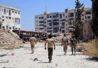 800 боевиков сдались властям в пригороде Дамаска