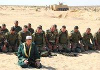 Российские десантники-мусульмане помолились с коллегами из Египта