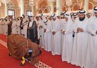 В Катаре похоронен бывший эмир (Фото)