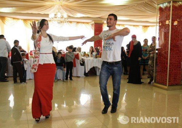 Свадьба в Чечне.