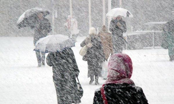 В Татарстане ожидается похолодание и снег.