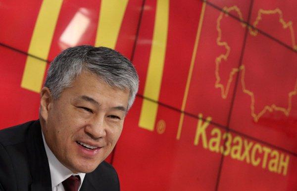 Родственник Назарбаева оформил франшизу «Макдоналдс» вТатарстане