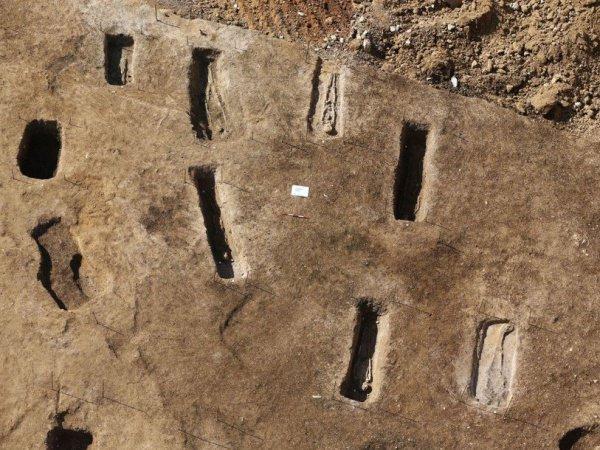Древнее кладбище, обнаруженное в Ливане.