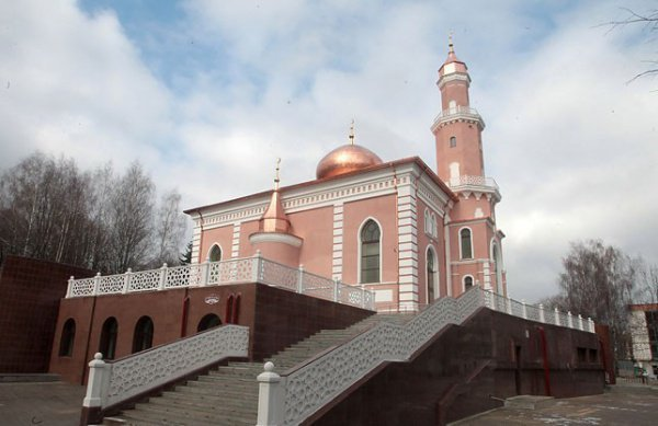 Соборная мечеть в Минске.