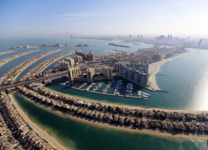 31 потрясающее аэрофото Дубая