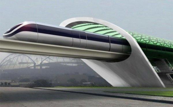 Сверхскоростной поезд основоположника Tesla готовятся представить вДубае