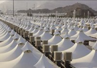 В палаточном городке в Долине Мина начали ремонт