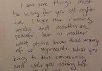 Узнав о победе Трампа, жители этого города написали трогательное письмо в поддержку мусульман