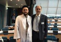 Муфтий РТ встретился с президентом Европейской лиги мусульман (Фото)