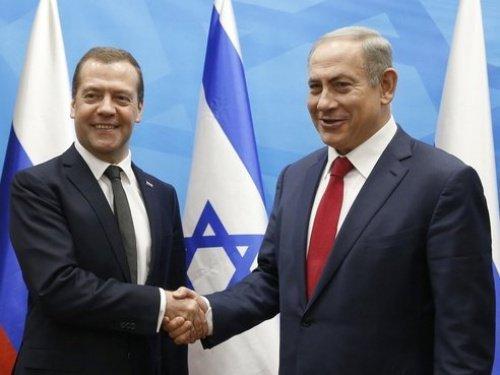 Дмитрий Медведев и Биньямин Нетаньяху.