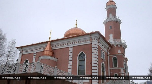 Эрдоган открыл в Минске мечеть