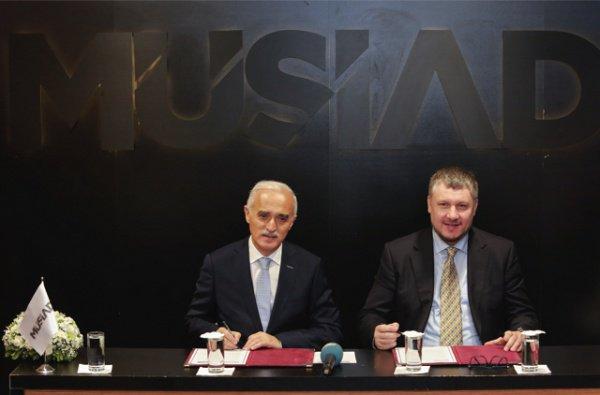 Подписан партнерский договор между крупнейшими мусульманскими ассоциациями России и Турции