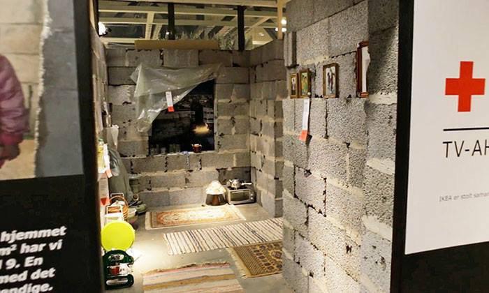 IKEA показала норвежцам каково живется сирийцам в наши дни