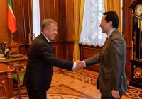 Рустам Минниханов встретился с генеральным консулом КНР