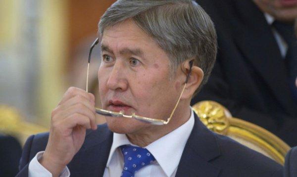 ВКиргизии ищут пользователя соцсети, угрожавшего Атамбаеву убийством
